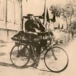20. Журавлев на велосипеде